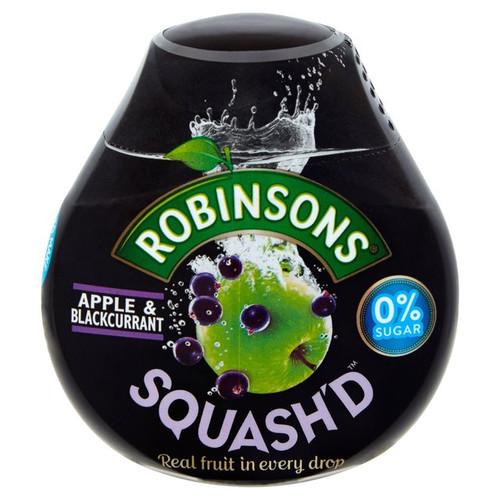 Robinsons Squash'd Apple & Blackcurrant No Added Sugar 66ml
