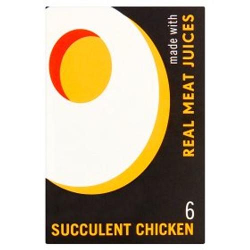 Oxo Succulent Chicken Stock Cubes 6x6g