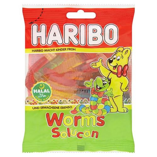 Haribo Halal Worms 100G