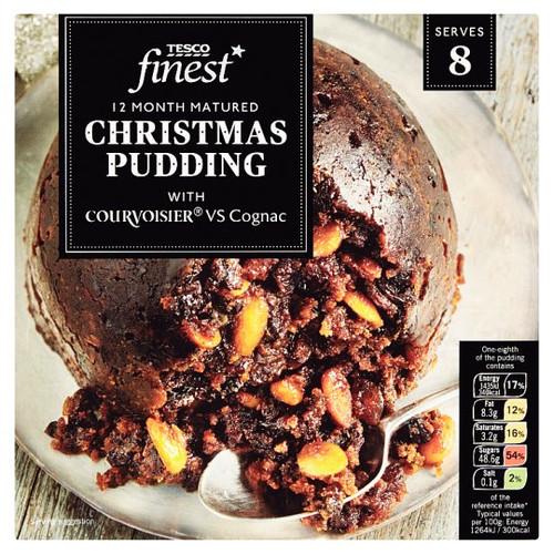 Tesco Finest Christmas Pudding 907G