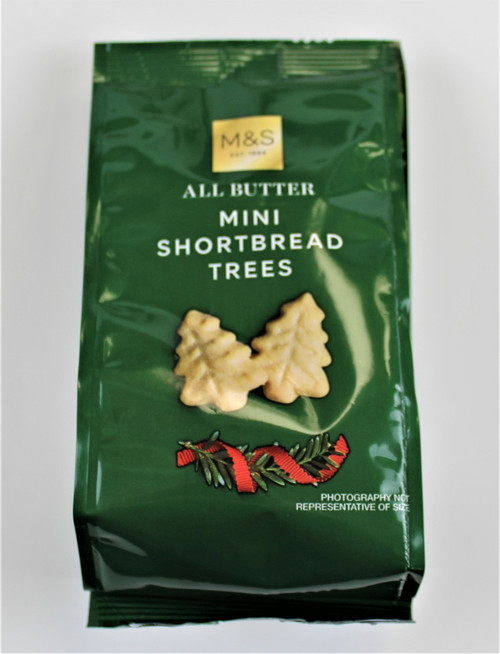 Marks and Spencer All Butter Mini Shortbread Trees 115g