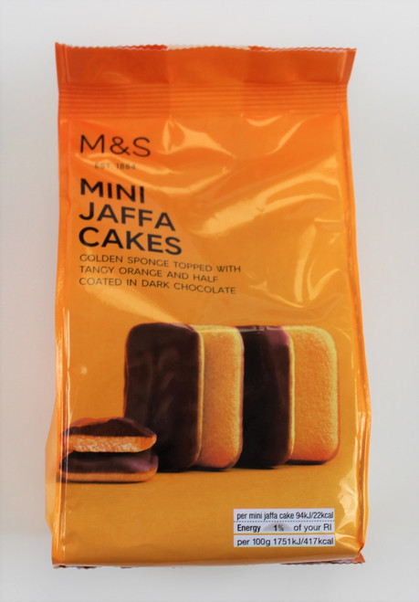 Marks and Spencer Mini Jaffa Cakes 100g