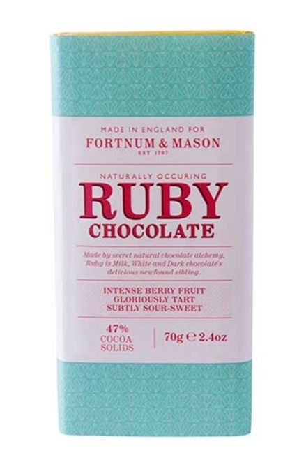 Fortnum's Ruby Chocolate Bar 70g