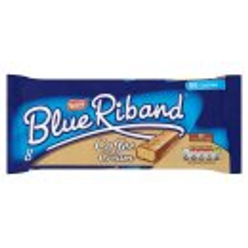 Blue Riband Coffee Cream Chocolate Biscuit Bar 8 Pack 154.4g