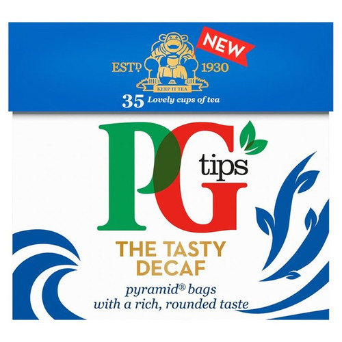PG Tips The Tasty Decaf Tea Bags 35 per pack