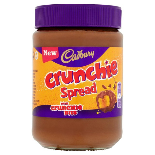 Cadbury Crunchie Choc Spread 400g