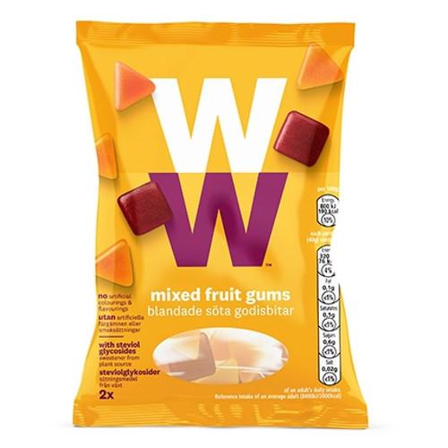 Weight Watchers Mixed Fruit Gums 80g (2 x 40g)