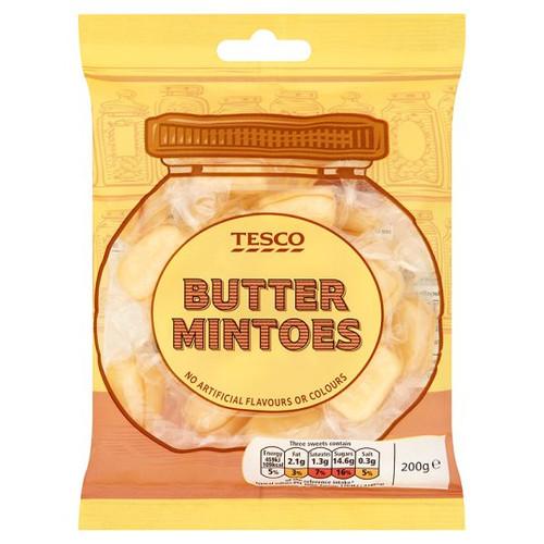 Tesco Butter Mintoes 200g
