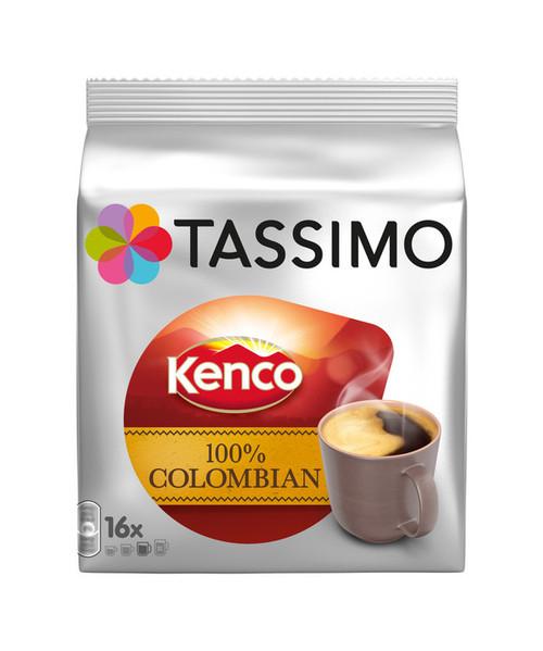 Tassimo Kenco Colombian Discs 16 Discs 136g
