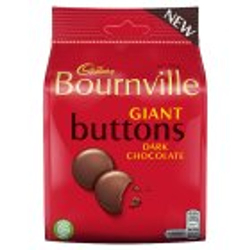 Cadbury Bournville Giant Buttons 110g