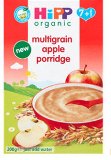 HiPP Organic Multigrain Apple Porridge 7+ Months 200g