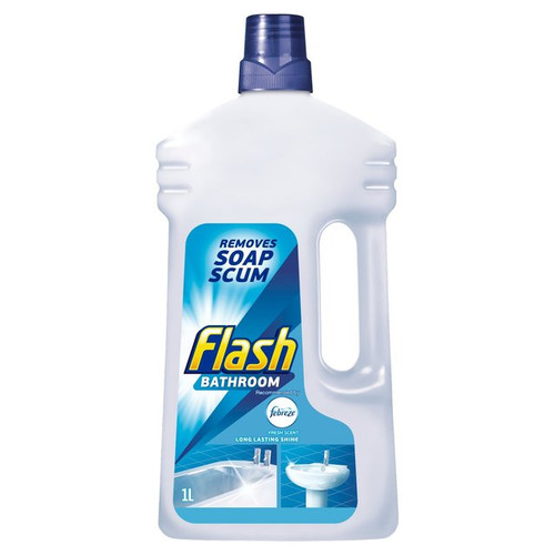 Flash Bathroom Cleaner Liquid 1L
