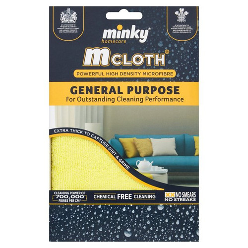 Minky M Cloth General Purpose - Yellow