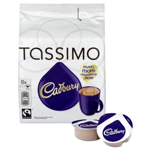 Tassimo Cadbury Hot Chocolate 8 per pack