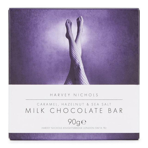 Harvey Nichols Caramel & Hazelnut Chocolate Bar 90g
