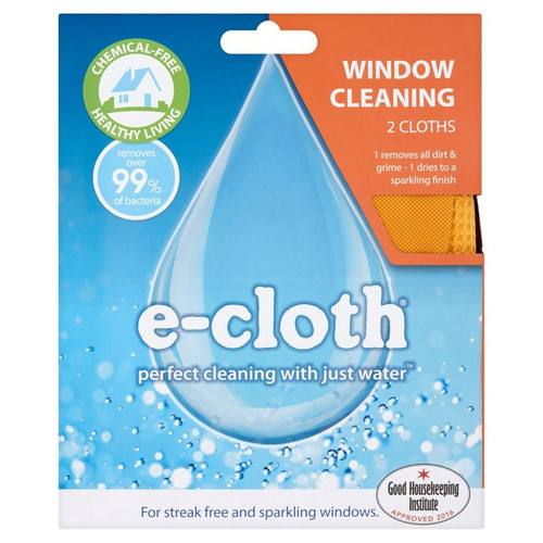 E-Cloth Window Pack 2 per pack