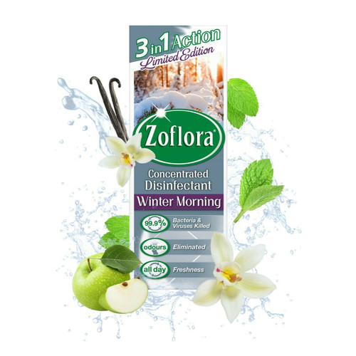 Zoflora Winter Morning Disinfectant 120ml