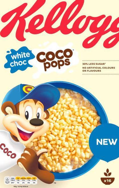 Kellogg's White Choc Coco Pops Cereal 480g
