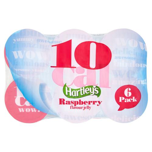 Hartley's 10cal Raspberry Jelly Multipack 6 x 175g