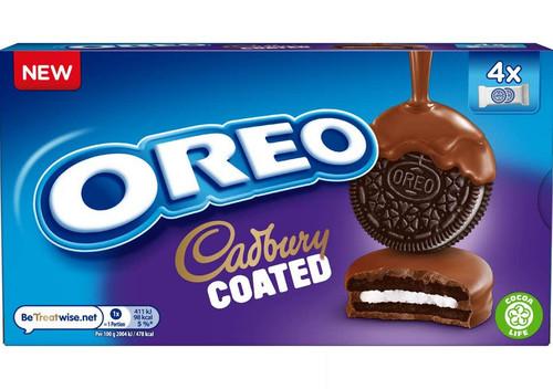 Oreo Cadbury Chocolate Coated Biscuits 164g