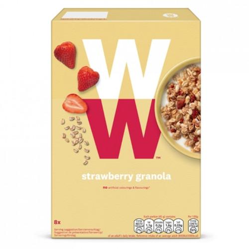 Weight Watchers Strawberry Granola 400g
