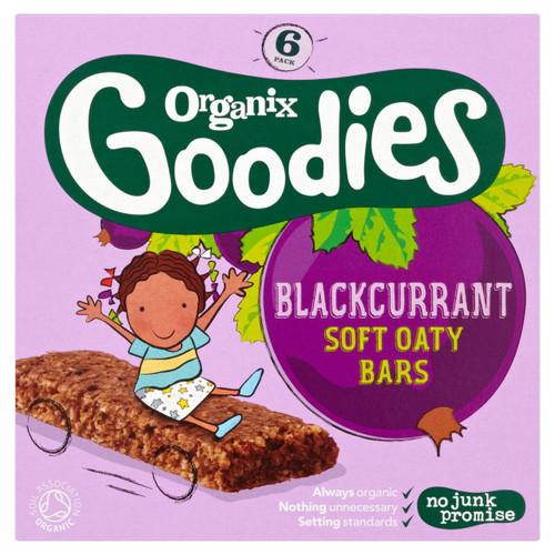 Organix Goodies Blackcurrant Oaty Bars 6 x 30g