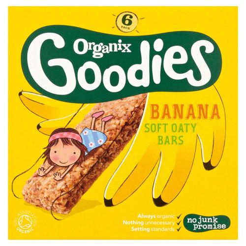 Organix Goodies Banana Oaty Bars 6 x 30g