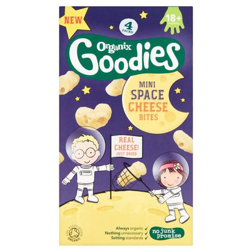 Organix Goodies Mini Space Cheese Bites 4 x 8g