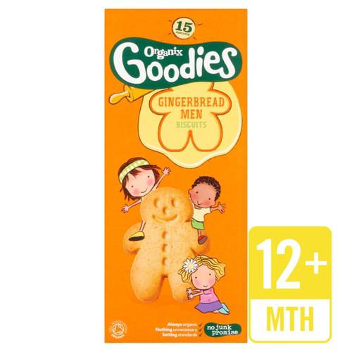 Organix Goodies Gingerbread Men Biscuits 135g