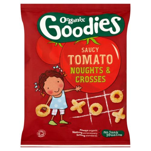 Organix Goodies Tomato Noughts & Crosses 15g