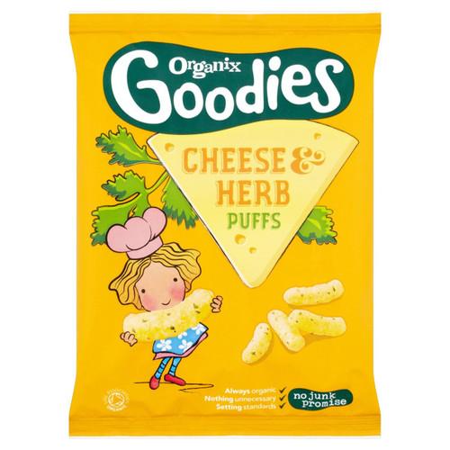 Organix Goodies Cheese & Herb Puffs 15g