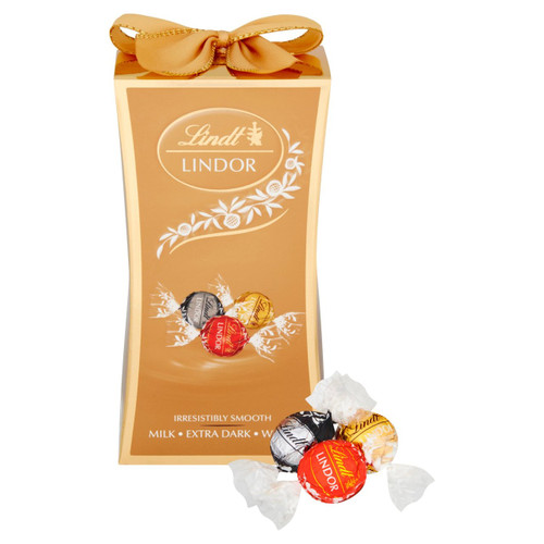 Lindt Lindor Assorted Chocolate Bow Gift Box 75g