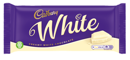 Cadbury Creamy White Chocolate Bar 180g