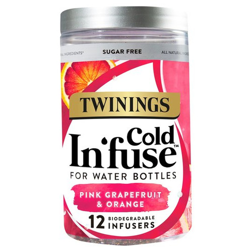 Twinings Cold Infuse Pink Grapefruit & Orange 12Pcs