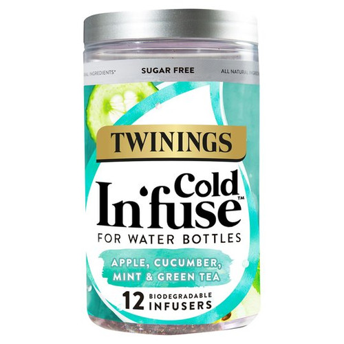 Twinings Cold Infuse Apple, Cucumber, Mint & Green Tea 12Pcs