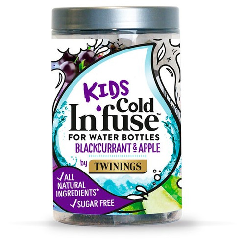 Twinings Cold Infuse Kids Apple & Blackcurrant 12's 30G