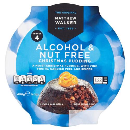 Matthew Walker Nut & Alcohol Free Christmas Pudding 454g