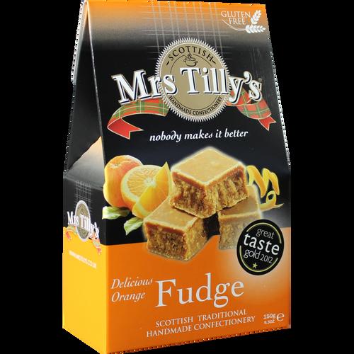 Mrs Tilly's Orange Fudge Gift Box 150g