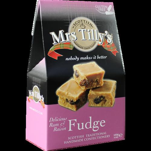 Mrs Tilly's Rum & Raisin Gift Box 150g