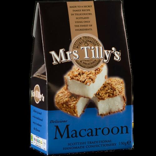 Mrs Tilly's Macaroon Gift Box 150g