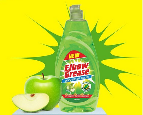 Elbow Grease Apple Scented Washing Up Liquid 740ml