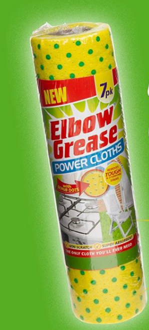 Eblow Grease Cloths 7pk