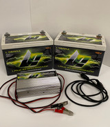 2 Lithium Powerpack L1600A 16V Batteries with Charger - Like New