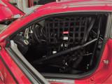 Custom Gen 6 COPO Camaro White Safety Equipment Window Net