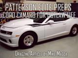 Patterson-Elite Preps COPO Camaro For Outlaw Life