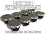Boost Your Piston Performance with Custom Dome and Skirt Coating