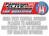 NHRA West Central Division Pleased to Announce  Patterson Elite as Returning Low Qualifier Sponsor