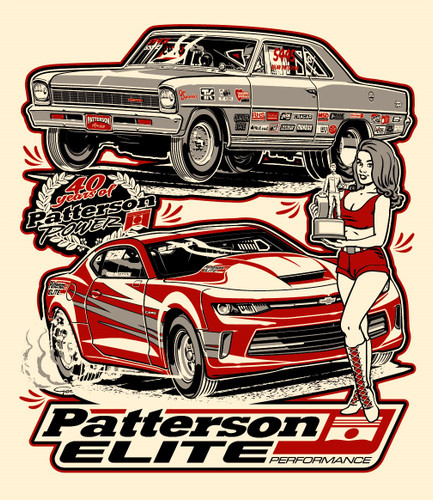 Patterson Elite 40th Anniversary T-shirt