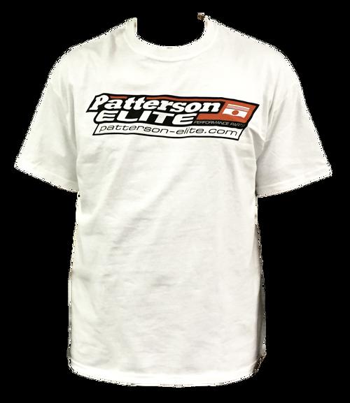 White Short Sleeve PEP Logo T-Shirt