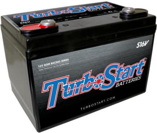 TurboStart 16V AGM Race Battery #S16V